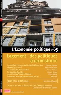 L'Économie politique 2015/1