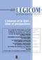 couverture de L'internet et le droit : bilan et perspectives