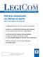 couverture de Droit de la communication : les réformes en marche