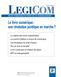 couverture de Le livre numérique : une révolution juridique en cours ?