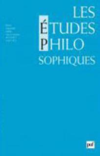 Les Études philosophiques 2001/2