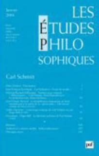 Les Études philosophiques 2004/1