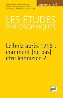 Les Études philosophiques