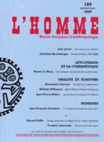 L'Homme 2009/1