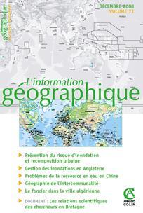L'Information géographique  2008/4