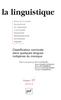 couverture de Les classificateurs nominaux dans des langues du Mexique