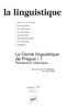couverture de Le Cercle l inguistique de Prague - I