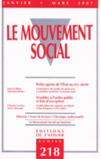 Le Mouvement Social 2007/1
