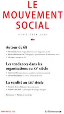 Le Mouvement Social 2008/2
