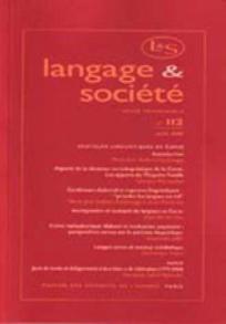 Langage et société 2005/2