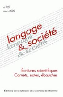 Langage et société 2009/1