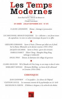 Les Temps Modernes 2014 3