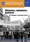 couverture de Histoire, mémoire, justices