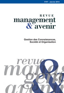 revue management et avenir  page