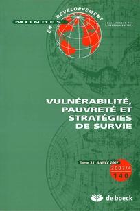 Mondes en développement 2007/4