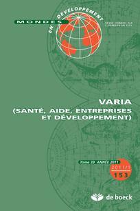 Mondes en développement 2011/1