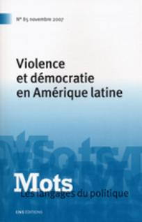 Mots. Les langages du politique 2007/3
