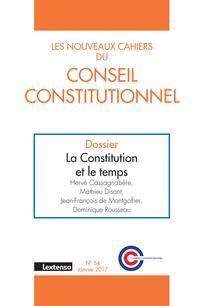 Les Nouveaux Cahiers du Conseil constitutionnel