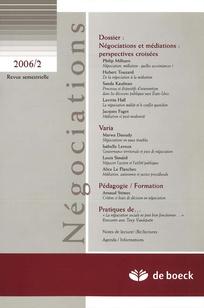Négociations 2006/2