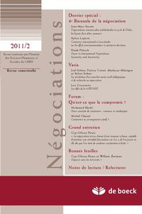 Négociations 2011/2