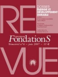 Nouvelles FondationS 2007/2