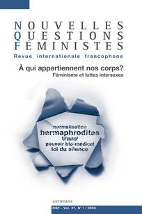 Nouvelles Questions Féministes 2008/1
