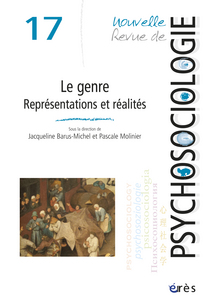 Nouvelle revue de psychosociologie 2014/1
