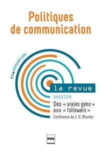 Politiques de communication 2016/1