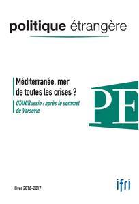 Politique étrangère 2016/4