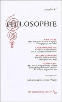 couverture de PHILO_081