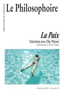 Le Philosophoire 2005/1