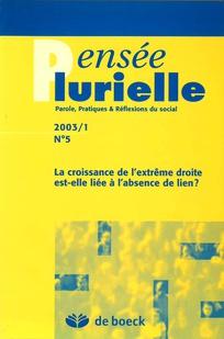 Pensée plurielle 2003/1