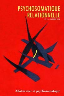 Psychosomatique relationnelle 2014/2
