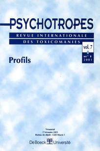 Psychotropes 2001/1