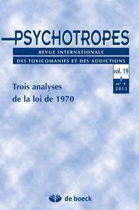 Psychotropes 2013/1