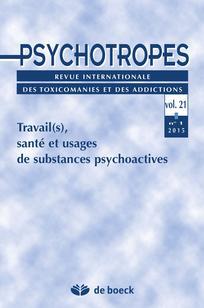 Les  formes différenciées d'usages de produits psychoactifs au travail?: les cas des bars-restaurants et des chantiers du bâtiment