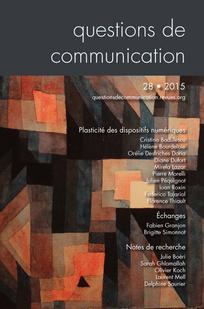 Questions de communication 2015/2