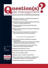 Question(s) de management