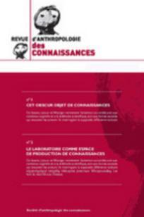 Revue d'anthropologie des connaissances 2010/2