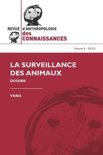 Revue d'anthropologie des connaissances 2015/2