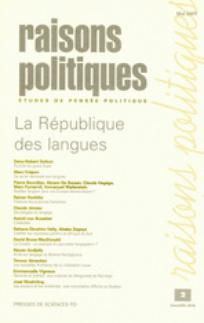 Raisons politiques 2001/2