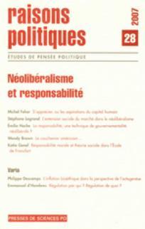 Raisons politiques 2007/4
