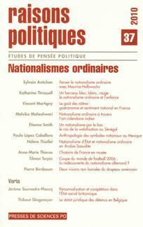 Raisons politiques 2010/1