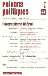 Raisons politiques 2011/4