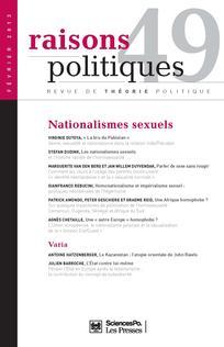 Raisons politiques 2013/1