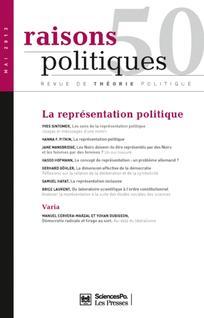 Raisons politiques 2013/2