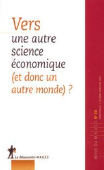 Revue du MAUSS 2007/2