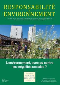 Inégalités urgences environnementales et sociales identifier les urgences Inégalités 087aff