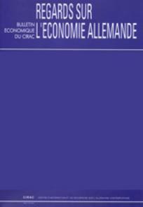 Regards sur l'économie allemande 2010/1