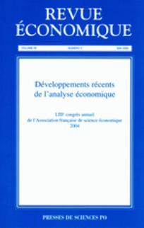 Revue économique 2005/3